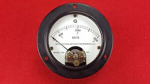 Vintage Weston 301 Multiply Q By 4 1 Panel Mount Meter