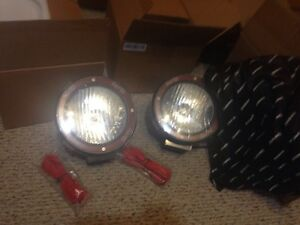 2xuniversal 7 Inch Hid 4x4 Jeep Off Road Rally Driving Fog Light Lamp