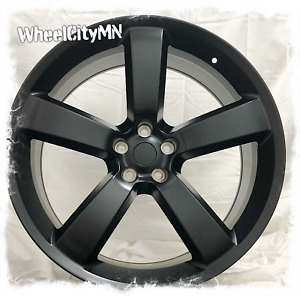 22 Inch Matte Black Dodge Charger Srt Oe Factory Replica Wheels Challenger 5x115