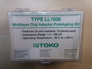 New Original Toko Chip Inductor High Current Sample Prototyping Kit Ll1608
