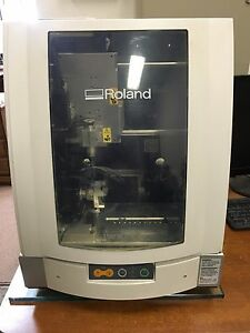 Roland Jwx 10 3d 3 Axis Wax Milling Machine Jewelry Hp Computer Protowizard