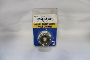 1 5 16 Rotacut Sheet Metal Cutter 11 000 Series Hougen Part Number 11165