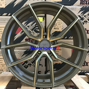 Xxr 559 19 X 8 5 40 Bronze Rims Wheels 5x114 3 06 14 15 16 17 Honda Civic Ex Si