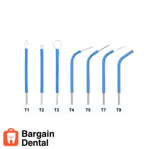 Bonart 7 Assorted Dental Electrode Tips For Art e1 Electrosurgery Medical Vet