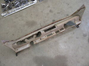 1958 Mercury Monterey Interior Main Dash Panel Frame Structure Metal Insert