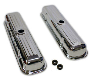 Pontiac Chrome Valve Covers 326 350 400 455 59 79 Gm