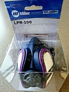 Miller Ml00895 Lpr 100 Half Mask Respirator With Extra Filters Free Shipping
