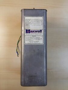 Maxwell 3kv Energy Discharge Capacitor High Voltage 39504