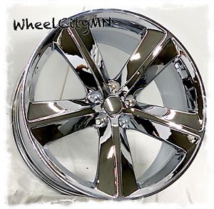 20 X9 Inch Chrome 2009 2010 Dodge Challenger Srt Oe Replica Wheels Charger 5x115