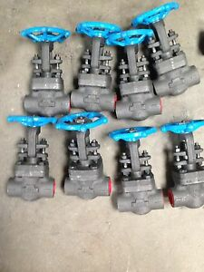 lot Of 8 Smith Valve Corp Steel Valves 0616 Ajl A105nlc 3 4 800