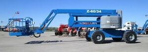 2005 Genie Z60 34 Articulating Boom Lift 1700 Hours Well Maintained