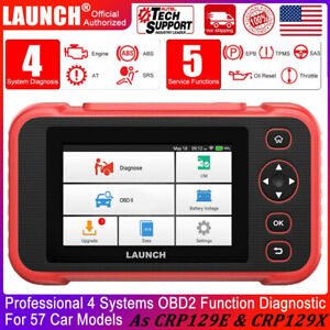 Launch X431 Crp129i Obd2 Abs Sas Tpms Code Reader Scanner Engine Diagnostic Tool
