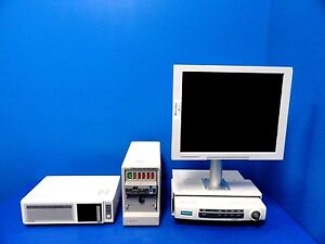 Ge Solar 8000 Monitor W Chromamxx 17 Lcd Rack Modules Leads
