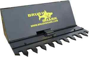 Tree Shear And Brush Cutter Brushshark Skid Steer Attachment 5 Manual Model