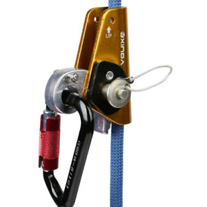 Heavy Duty 22kn Rope Grab Protecta Eye Rock Climbing Arborist Safety Gear