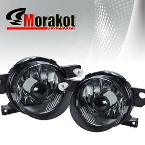 Honda Del Sol 93 97 Jdm Front Bumper Left right Fog Light Lamps Smoked Lens