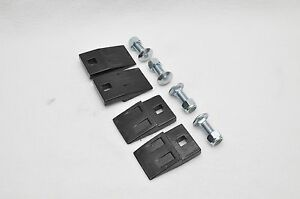 2 Pair W bolts Post Hole Digger Auger Replacement Edges Hd Tractor Skidsteer
