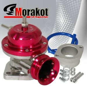 Car Auto Type Rs Bov Turbo Blow Off Valve Kit Adjustable Psi Aluminum Red