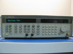 Agilent 83752b High Power Synthesized Sweep Generator 10mhz To 20ghz