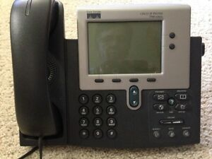 Cisco Phones Ip Telephone 7940 Series Excellent Telecommunication Lot Of 9