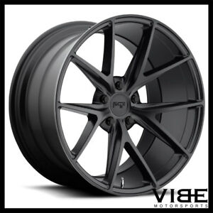 20 Niche Misano Black Concave Wheels Rims Fits Benz W219 Cls500 Cls550