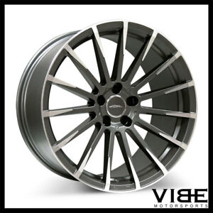 20 Ace Devotion 20x8 5 Grey Concave Wheels Rims Fits Audi C6 A6