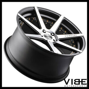 22 Vertini Dynasty Machined Concave Wheels Rims Fits Chrysler 300 300c 300s