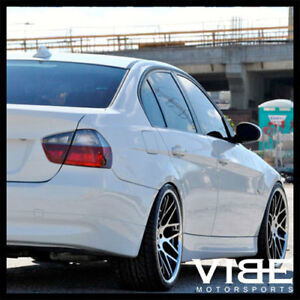 20 Vertini Machined Black Concave Wheels Rims Fits Bmw E90 M3 Sedan