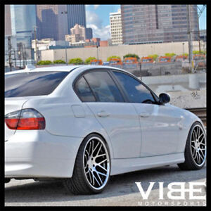 20 Vertini Magic Machined Concave Staggered Wheels Rims Fits Bmw E46 M3