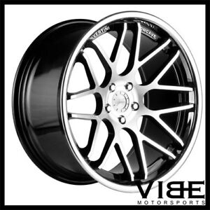 20 Vertini Magic Machined Concave Staggered Wheels Rims Fits Audi A7 S7