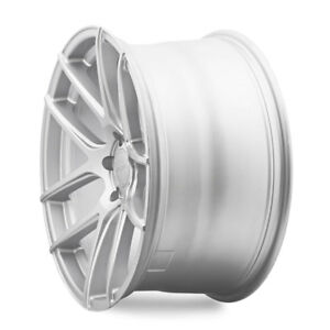19 Velgen Vmb5 Silver Concave Wheels Rims Fits Ford Mustang Gt Gt500