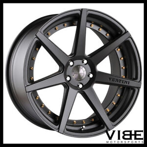 20 Vertini Dynasty Grey Concave Staggered Wheels Rims Fits Lexus Is250 Is350