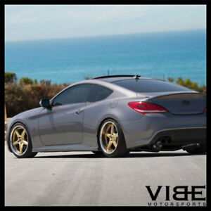 20 Vertini Drift Gold Five Star Wheels Rims Fits Hyundai Genesis Coupe