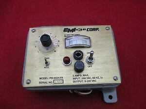 Emi Current Control Panel Pd 9024 fa