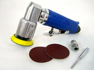 2 Mini Orbital Air Sander With 40 Piece 2 Sand Paper 12430