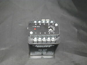 Issc Kanson Solid State Timer Off Delay 1013 1 f 2 b New