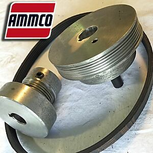 Ammco 40538 40581 Serpentine Drive Pully Set For 4000sp Brake Lathe Single Pass