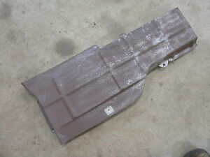 1953 Pontiac Chieftain Interior Under Seat Heater Duct Cover Panel Shield