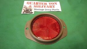 Jeep Willys Mb Gpw M38 M38a1 Guide A2 415a Oval Style Reflector Assembly