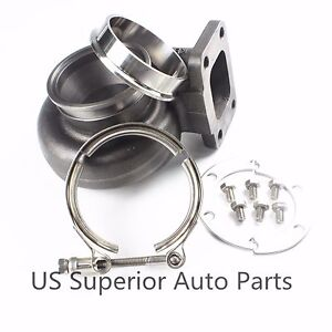 Gt3576r Gt3582r Gt35 Gtx35 A r 63 Vband Outlet Exhaust Housing 3 Clamp Flange