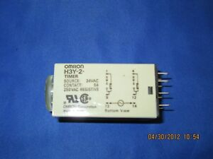 Omron Timer H3y 2 10s New
