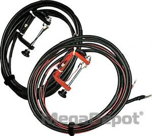 Aemc 2129 87 50 Ft Color coded Kelvin Leads With C clamp Set