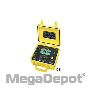 Aemc 2130 43 Ground Resistance Tester Model 4620 digital 4 point