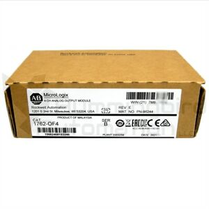 2020 New sealed Allen Bradley Micrologix 1762 of4 b Analog Output Module Qty