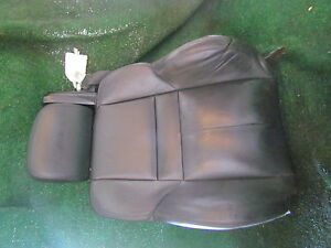 2007 Bmw M6 Convertible Front Lh Driver Seat Back Parts Only