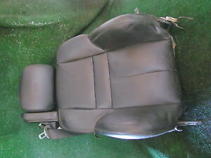 2007 Bmw M6 Convertible Front Rh Passenger Seat Back Parts Only