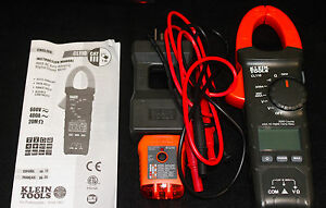 Klein Tools Cl110 Digital Multimeter 400a Ac Clamp Meter Nice