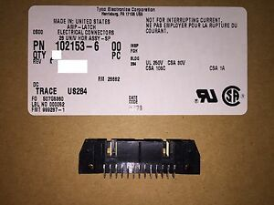 qty 25 102153 6 26 26 Positions Header Connector 0 100 Through Hole Gold Rohs