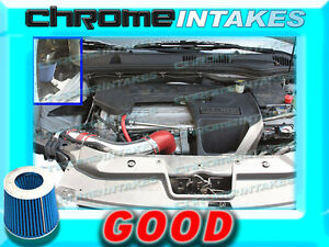 Red Blue 05 06 07 10 Chevy Cobalt Base ls lt xfe 2 2 2 2l I4 Cold Air Intake