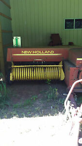New Holland 316 Hay Baler With Kicker thrower